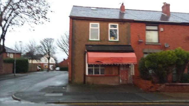 Former butcher's shop, Highfield Road
