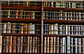 SX0863 : Lanhydrock House: One of the book cases in the gallery by Michael Garlick
