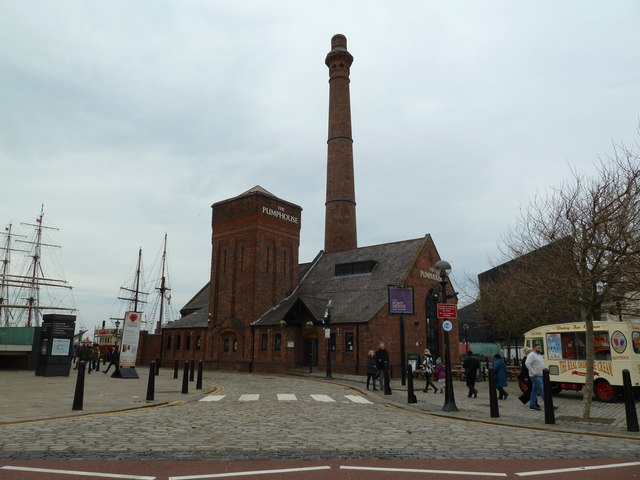 The Pump House, Liverpool Docks