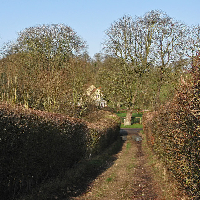 Nearing The Grange on New Year's Eve