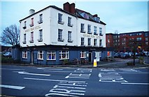 SO8454 : Severn View Hotel & Vue Bar, 54 Newport Street, Worcester by P L Chadwick