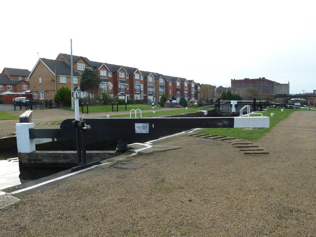 Lock 1, Liverpool Link Canal