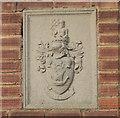 SK9925 : SKRDC crest on house by Bob Harvey