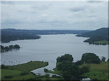 NY3704 : Lake Windermere viewed from near Ambleside, Cumbria by Matthew Cotton