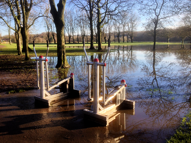 Flooding at Close Park (3) The Outdoor Gym