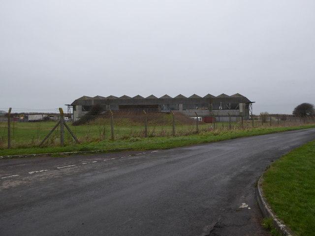 Aircraft hangar, Wroughton Airfield