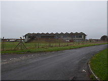 SU1479 : Aircraft hangar, Wroughton Airfield by Vieve Forward