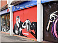 J3374 : Decorated shutter door, North Street, Belfast (December 2015) by Albert Bridge