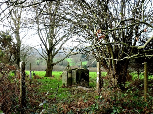 Remains of Observer Corps Post, Churchland Field