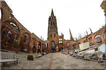 SP3378 : Coventry Cathedral by Oliver Mills