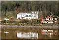 NZ1565 : Riverside buildings at Ryton by Trevor Littlewood