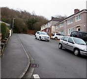 ST3090 : Steep eastern end of Graig Park Road, Malpas, Newport by Jaggery