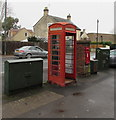 SO8005 : Doorless red phonebox, Stonehouse by Jaggery