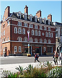 TQ3179 : Former fire station, Waterloo Road by Stephen Richards