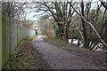 ST1796 : Sirhowy Valley Walk, Penmaen Industrial Estate by M J Roscoe