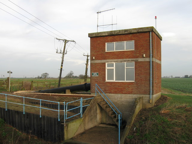 Black Sluice, Pinchbeck North Fen Pumping Station