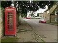 SK9902 : Collyweston Telephone kiosk by Alan Murray-Rust