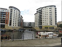 SE3032 : Apartment buildings, Leeds Dock by Graham Robson