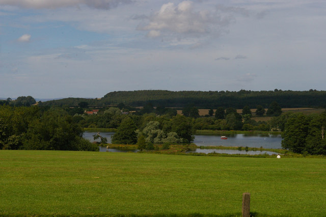 View towards Dairy Pond and the Great Lake, Castle Howard