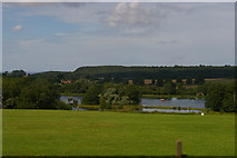 SE7170 : View towards Dairy Pond and the Great Lake, Castle Howard by Christopher Hilton