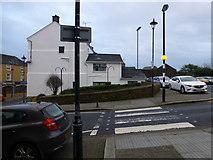 H4472 : Pedestrian crossing, Omagh by Kenneth  Allen