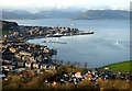 NS2577 : Gourock and the Firth of Clyde by Thomas Nugent