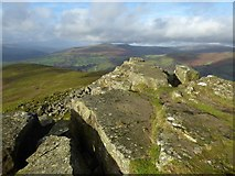SO2718 : Rocks on the summit of Sugar Loaf by Philip Halling