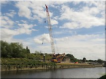 SE3231 : Repair work on the Aire and Calder Navigation by Graham Robson