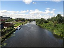 SE3231 : View west along the Aire and Calder Navigation by Graham Robson