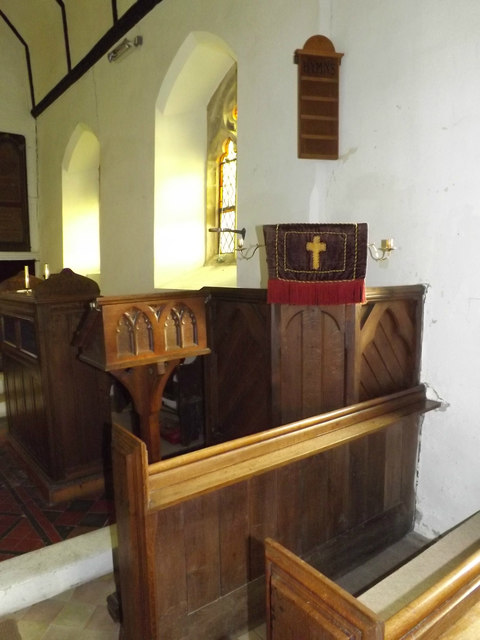 Pulpit of St.John's Church