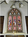 TM3687 : Stained Glass Window of St.John's Church by Adrian Cable