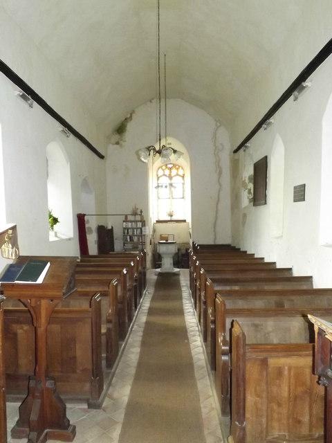 Inside of St.John's Church