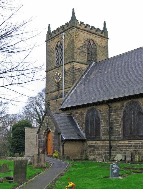 Blackwell - St Werburgh Church - tower from SE
