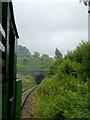SK0054 : Railway at Bradnop, Staffordshire by Roger  Kidd