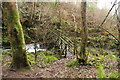 NX0881 : Footbridge over the Kilphin Burn by Billy McCrorie