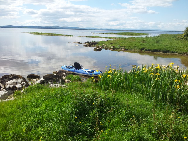 Lough Corrib - view from inlet on eastern side of lower lake