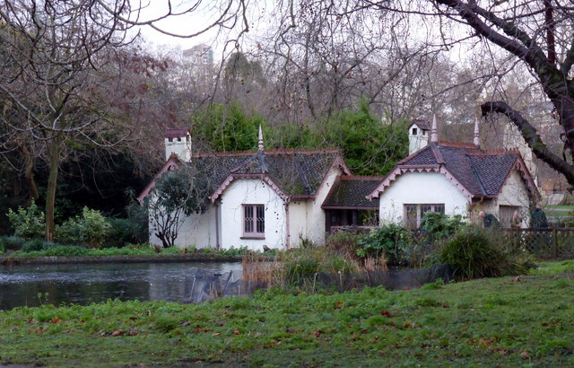 Duck Island Cottage in St James's Park