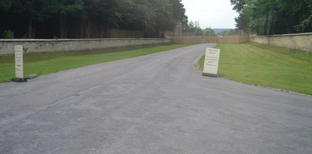Private Road into Chatsworth