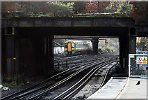 TQ2775 : Approaching Clapham Junction by Martin Addison