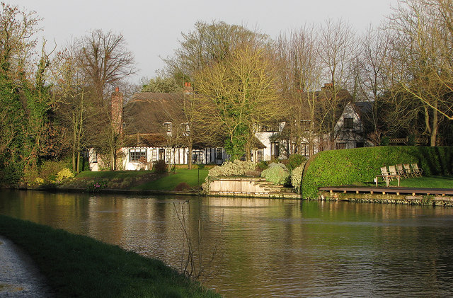 Fen Ditton: a bend in the Cam