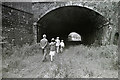 NT4936 : Ladhope Tunnel, Galashiels in 1986 by Walter Baxter