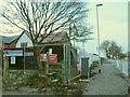 SJ7661 : Bramley Wood: footpath closed by Stephen Craven