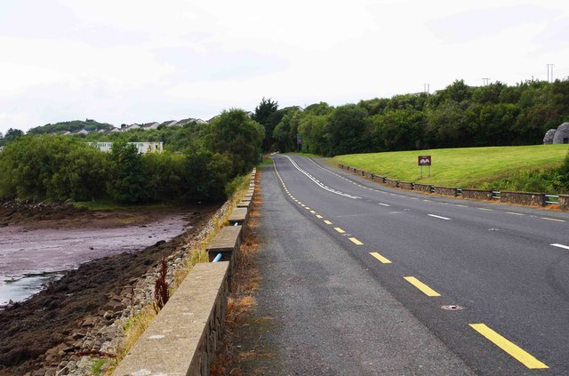 Donegal Road (R263) approaching Killybegs, Co. Donegal