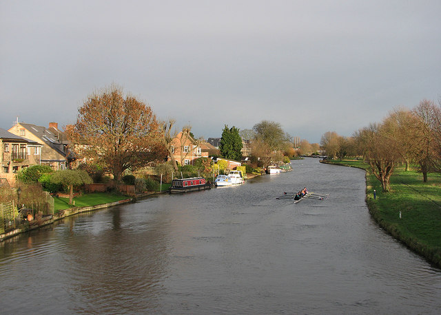 A January view from Green Dragon Bridge