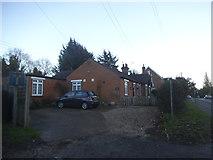 TL1600 : House on Watling Street, Radlett by David Howard
