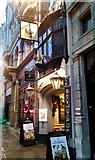 TQ3181 : Ye Olde Cock Tavern, Fleet Street, London, EC4Y 1AA by PAUL FARMER