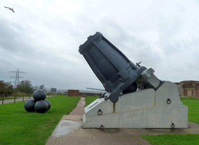 Fort Nelson - Mallet's Mortar