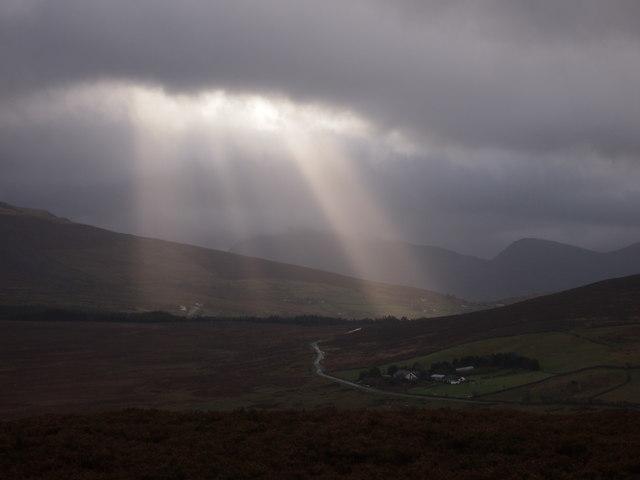Pen-y-bwlch, Mynydd Llandegai