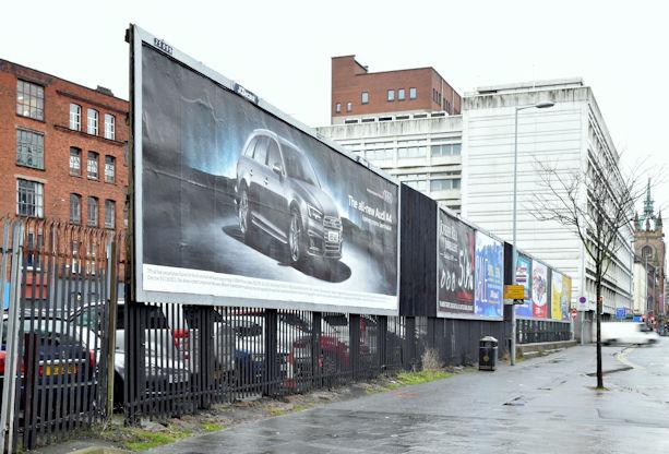 College Avenue development site, Belfast (January 2016)