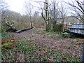 NS2975 : Disused railway bridge by Thomas Nugent
